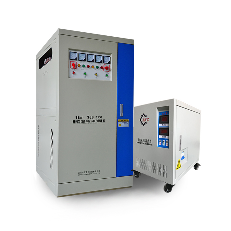 China Servo Controlled Industrial Voltage Stabilizer For Sale