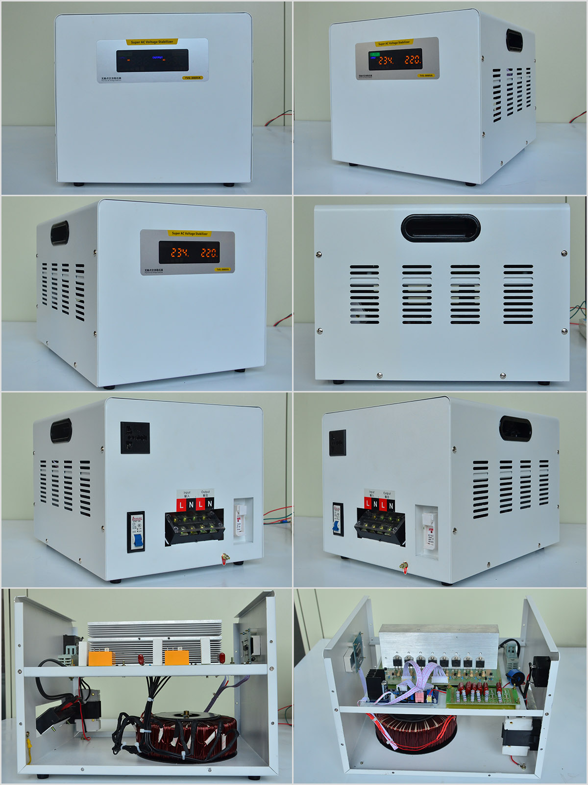 Single Phase Static Voltage Stabilizer