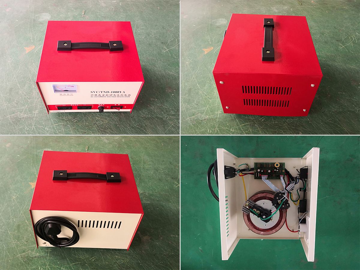 High Accuracy Single Phase Voltage Stabilizer