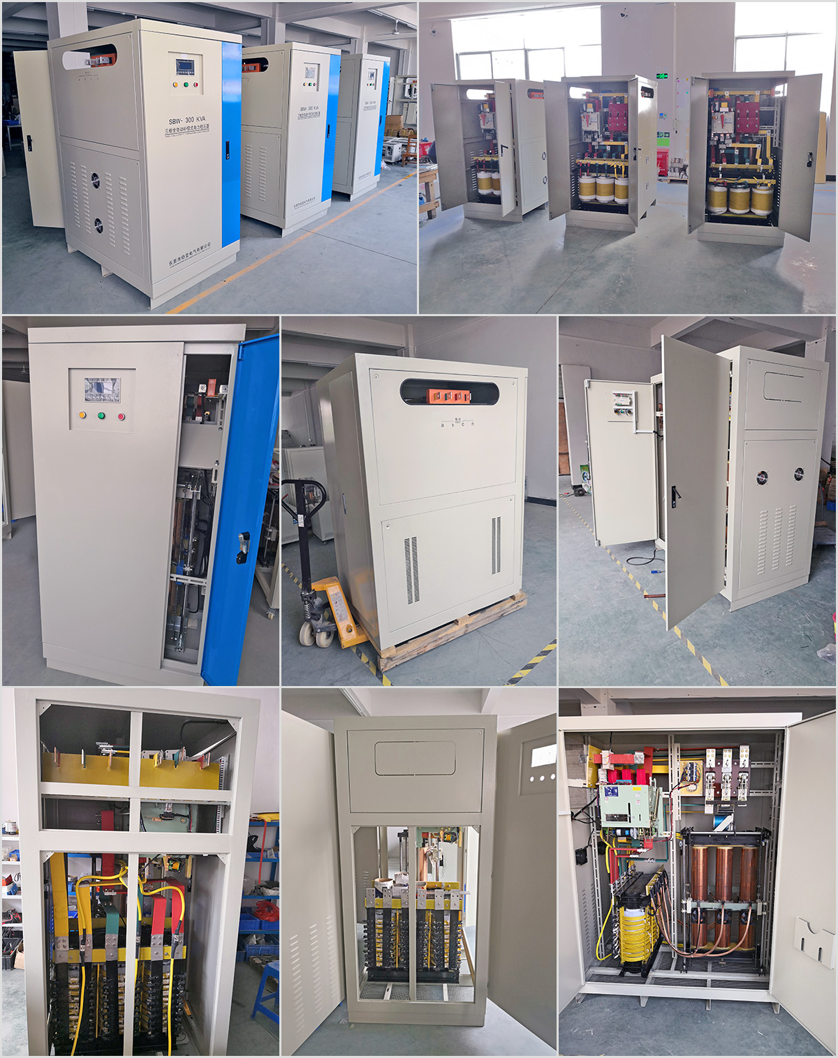 Industrial Voltage Stabilizer Large Capacity